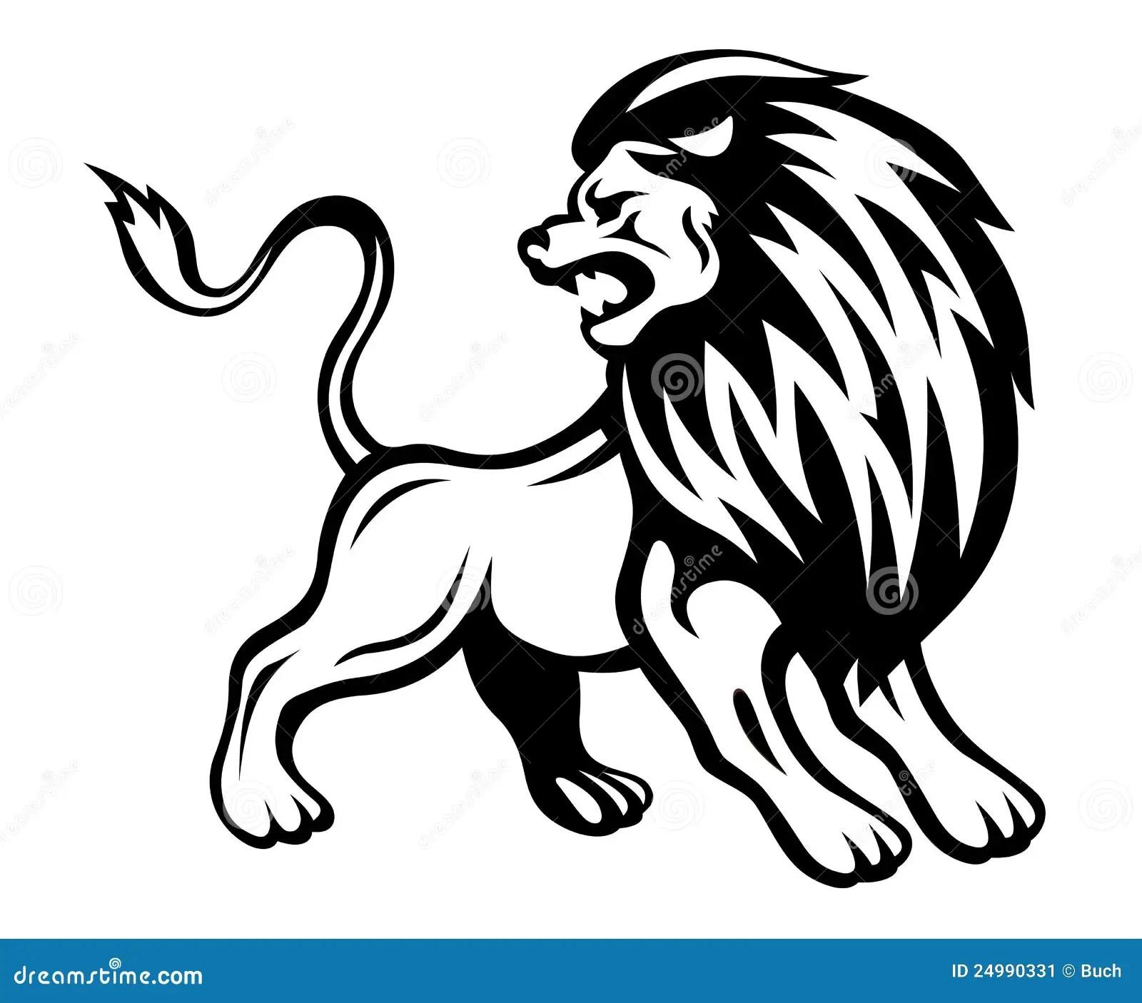 Angry Lion Stock Vector Illustration Of Mammal Cartoon