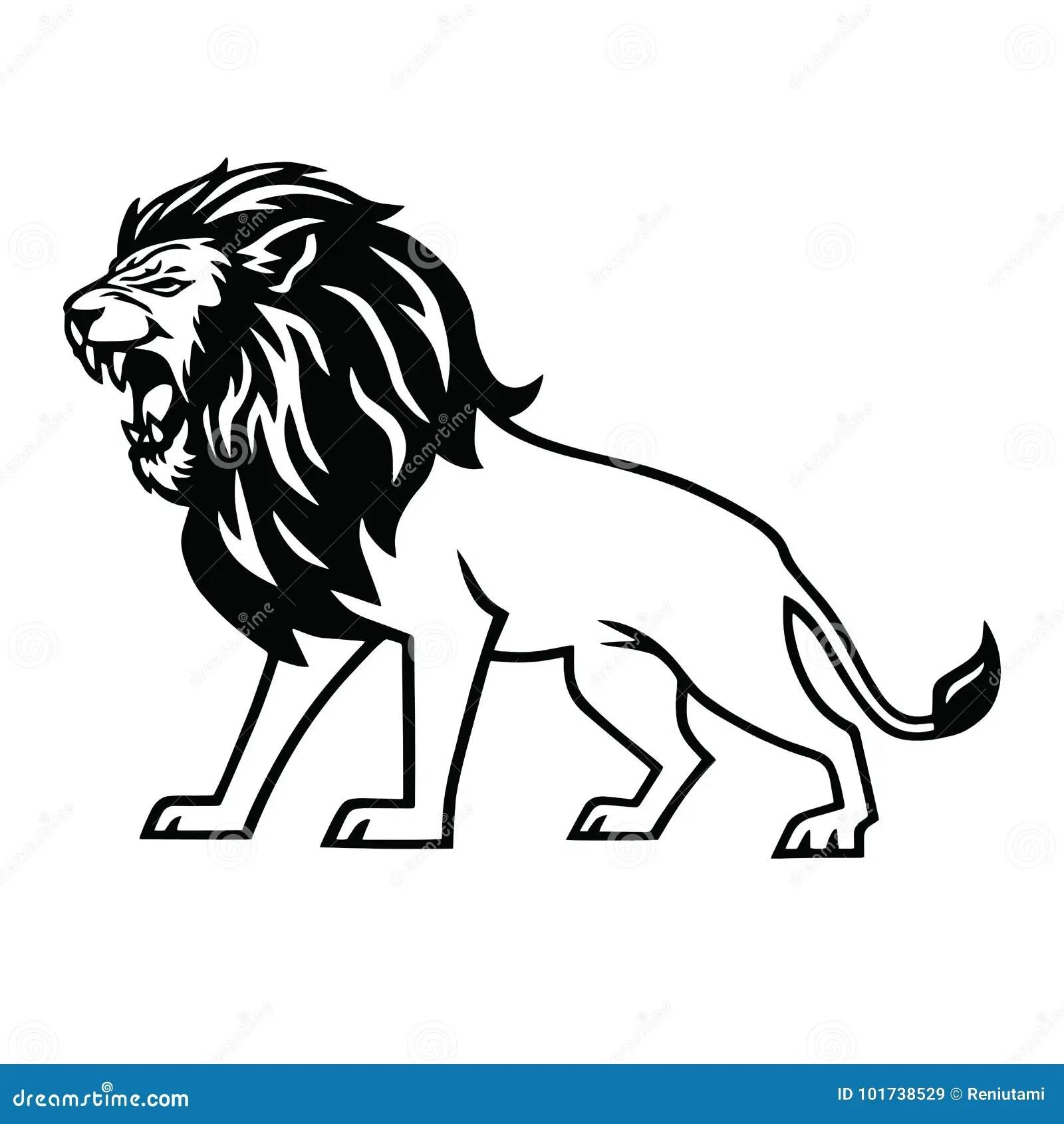 Lion Roar Stock Illustrations 984 Lion Roar Stock