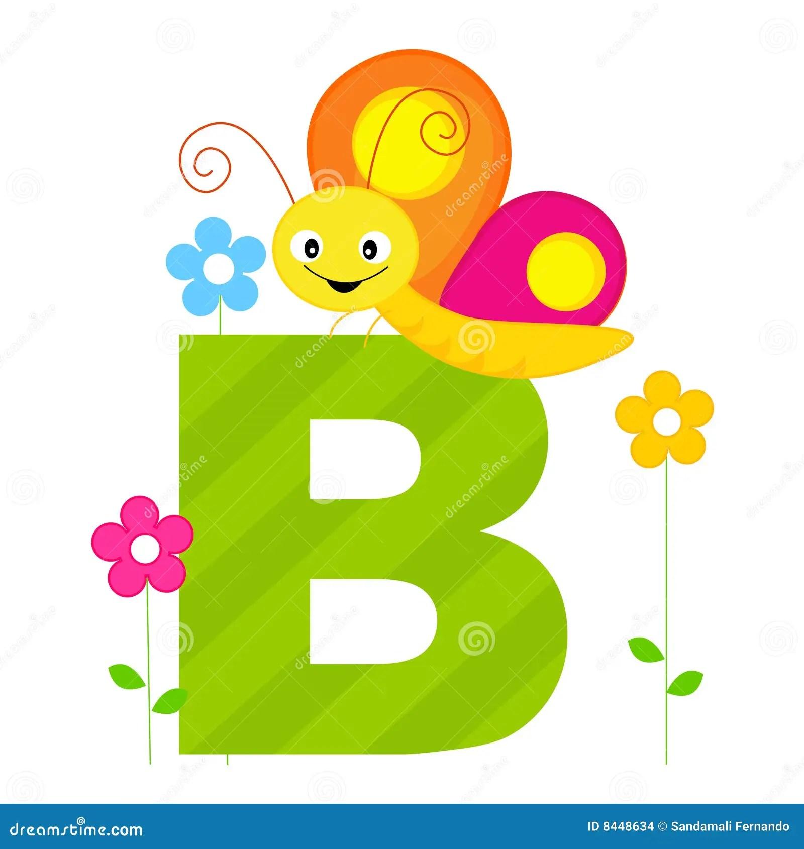 Animal Alphabet B Stock Images