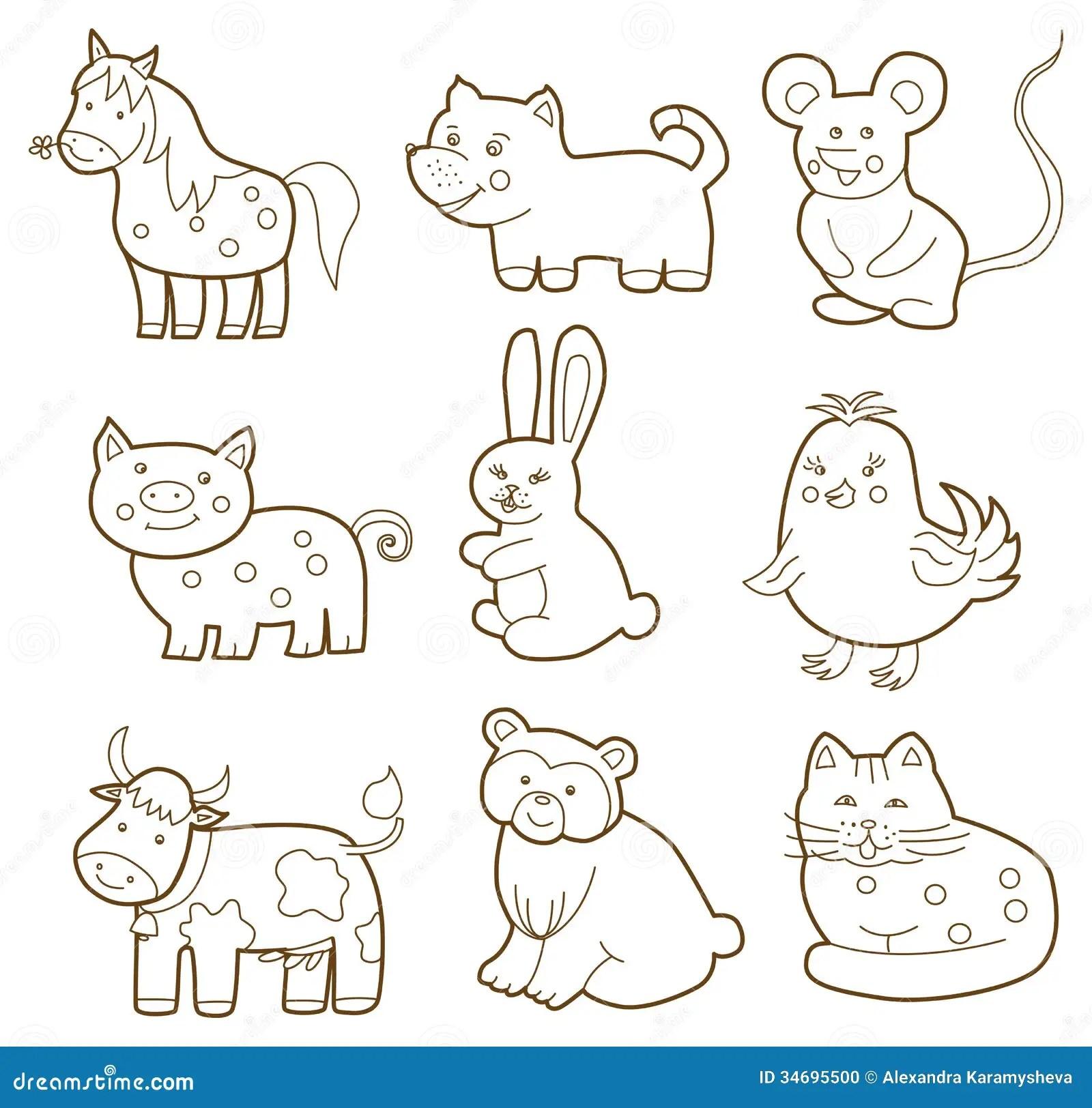 Animal Del Vector Ilustracion Del Vector Ilustracion De