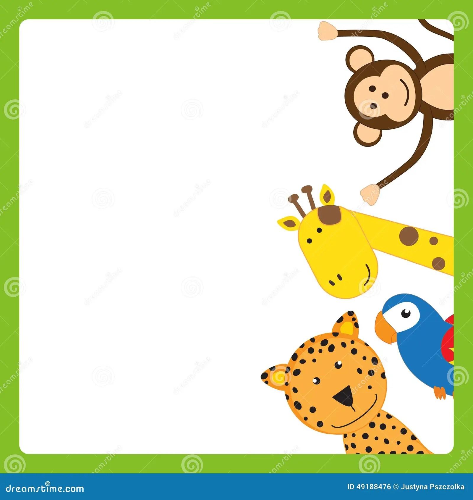 animal frame stock illustration