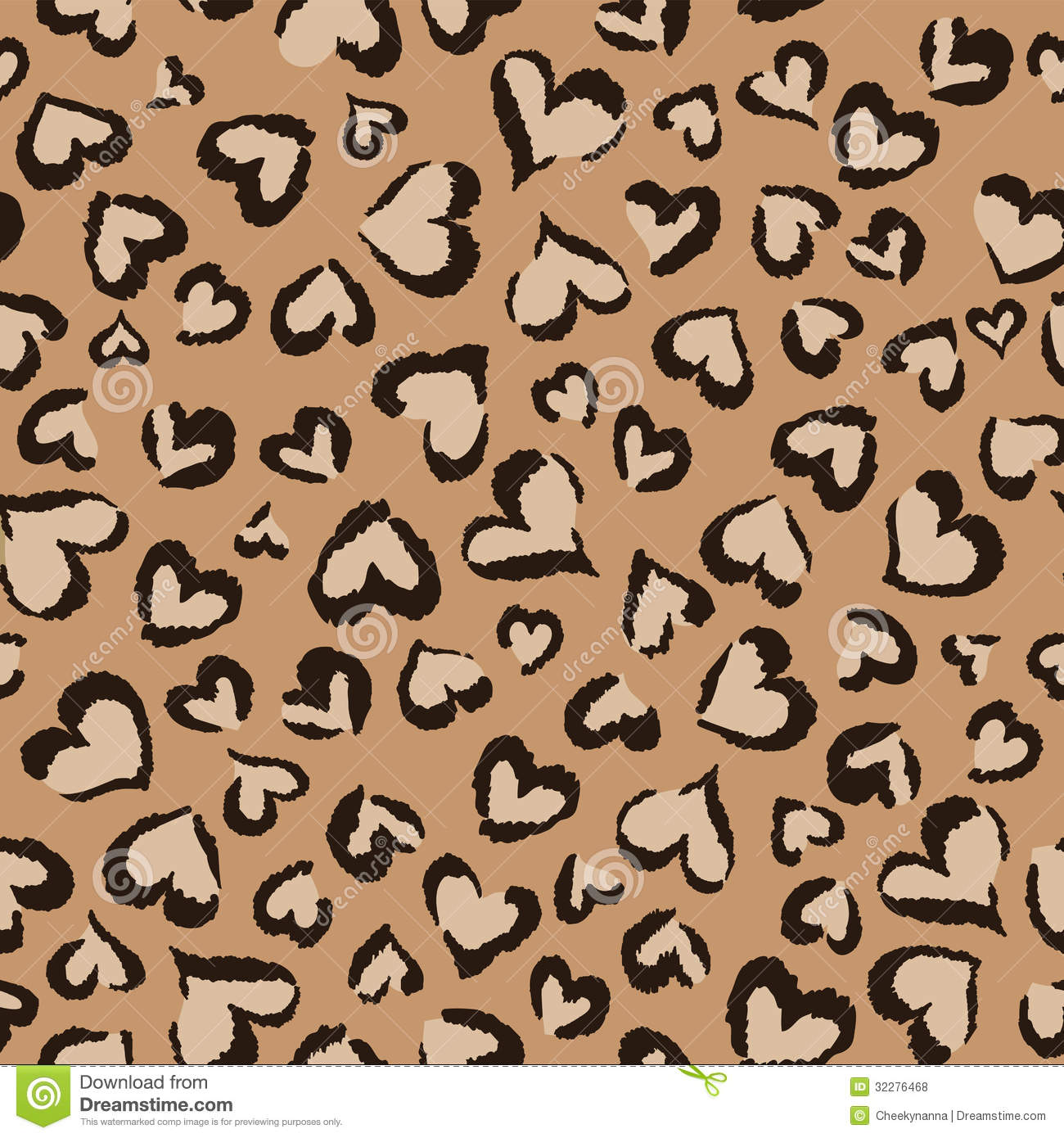 Cute Pink Teddy Wallpaper Animal Hearts Seamless Background Royalty Free Stock