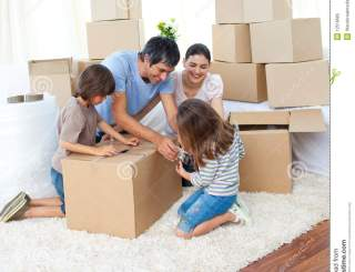 Top Tips for Moving House with Kids