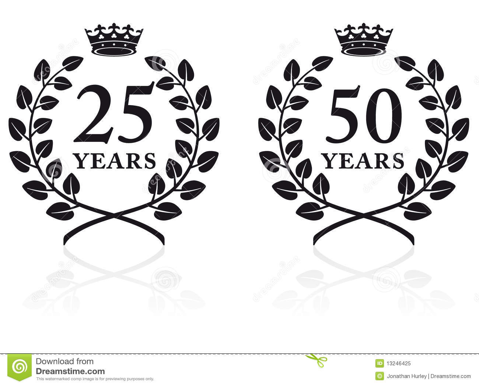 Anniversary Seals 2 Stock Vector Illustration Of