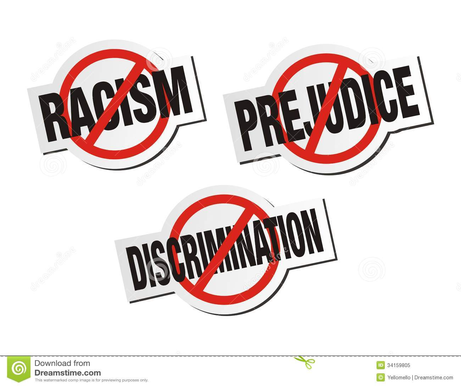 Anti racist sign