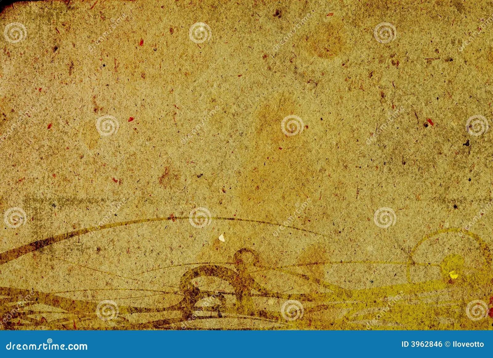 Antieke achtergrond stock illustratie Illustratie