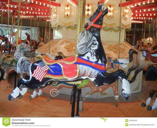 small resolution of antique carousel horse