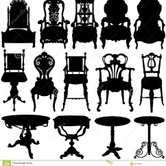 Old Office Chair And Table Safety First Portable High Antique Vector Stock Photography Image