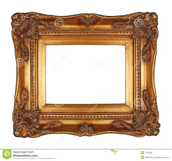 Antique Gold Frame Stock Of Paintings Ornate