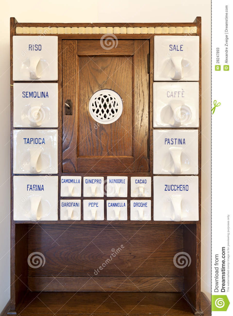 Antique kitchen cabinet stock image Image of style antique  28247893