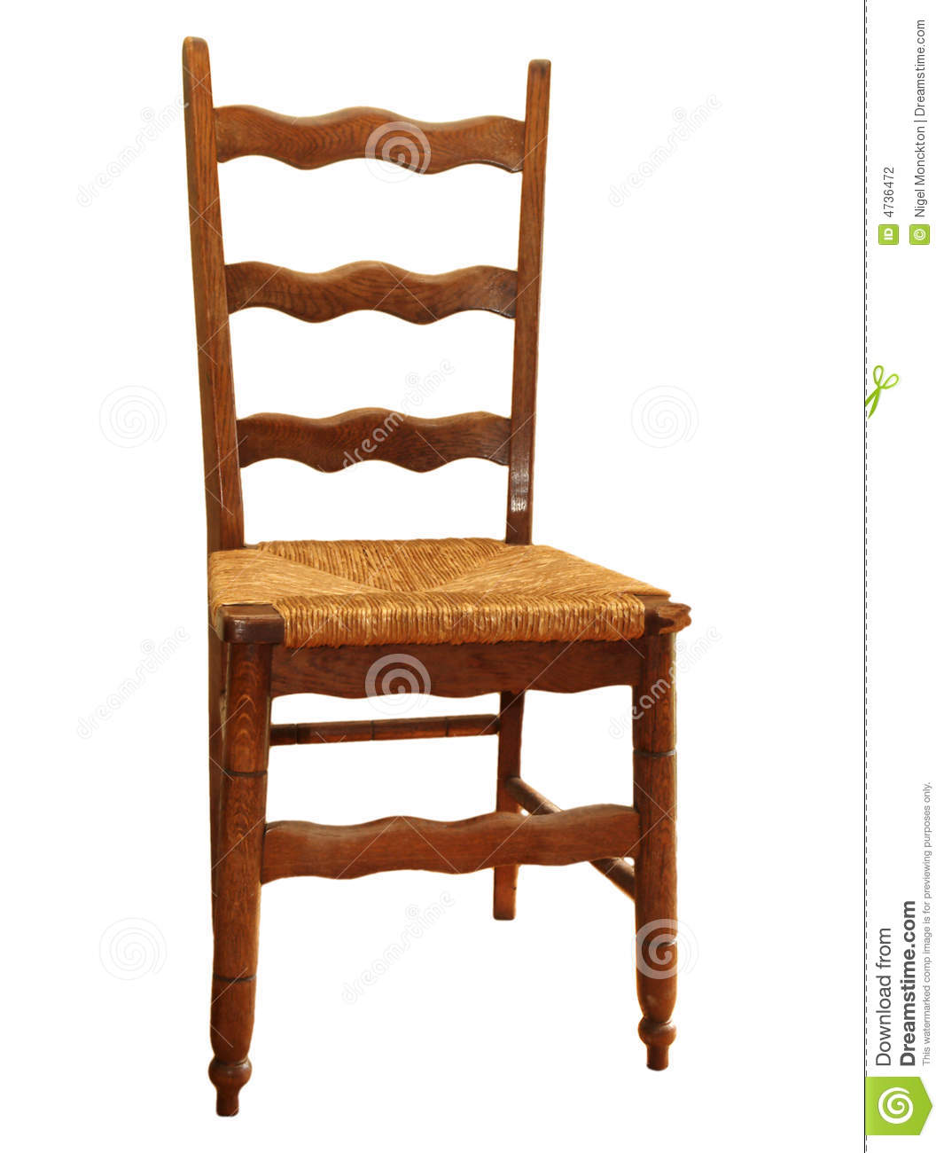 vintage wooden chairs red barber antique kitchen chair stock photo image of backrest