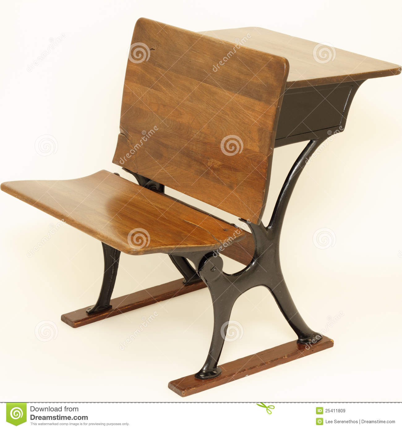 vintage school desk chair combo wheelchair yoga pdf antique and royalty free stock images