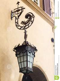 Antique Street Lamps Stock Photo - Image: 49228005