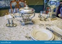 Antique Tableware Stock Photo - Image: 44904554
