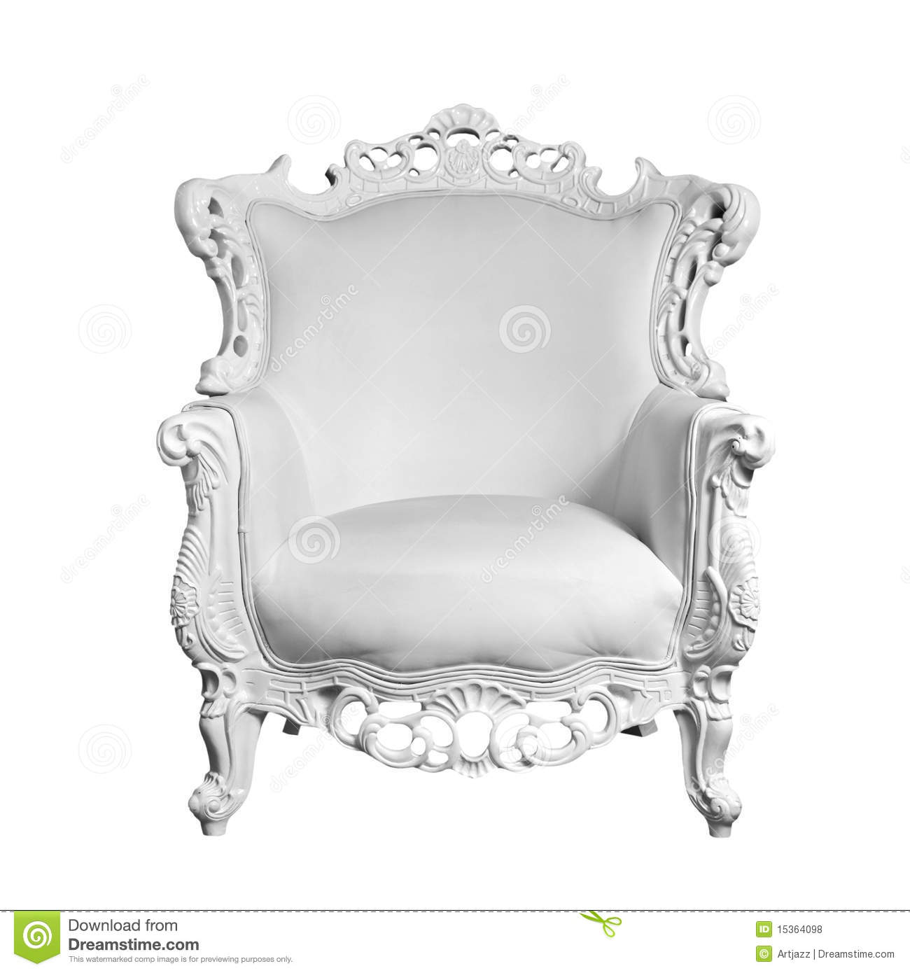 antique white chairs steel chair leather royalty free stock photos
