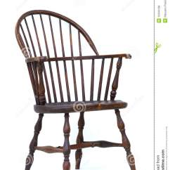 Antique Windsor Chair Baby Pillow Isolated Stock Photo Image Of Office