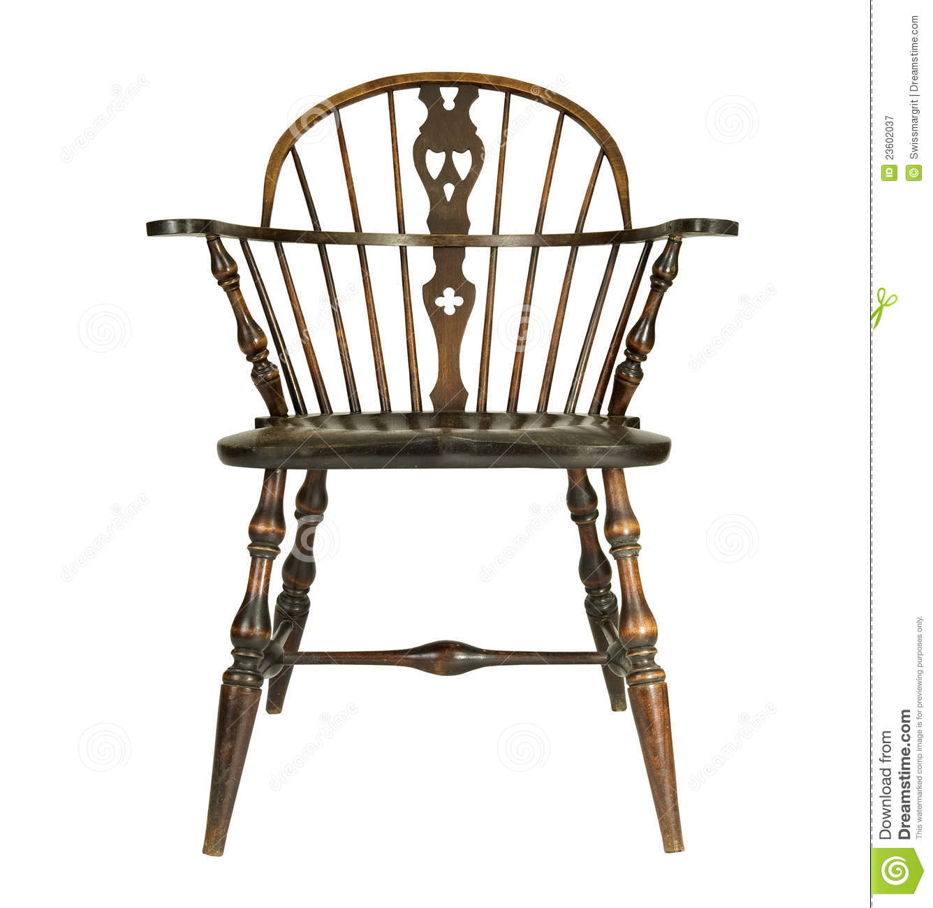antique windsor chair identification dining room chairs upholstered type royalty free stock photography