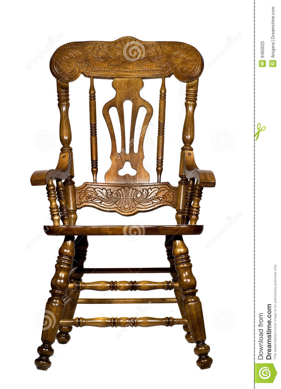antique wooden chairs pictures office chair slipcover pattern front view stock image of lacquer