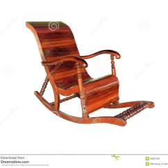 Antique Wooden Rocking Chairs Orange Gaming Chair Stock Image Of Leisure