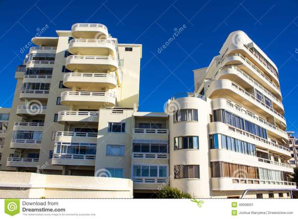 Apartment Building Stock Of Balcony Hill