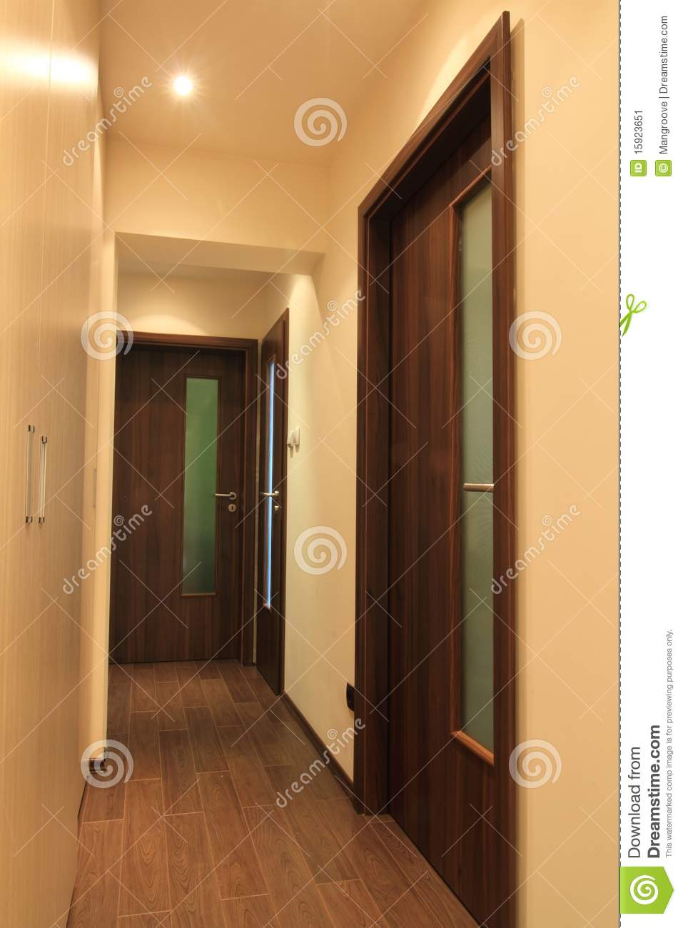 Apartment Hall Stock Image Image 15923651