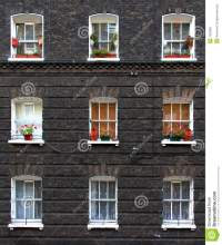 Apartment windows stock photo. Image of rents, apartments