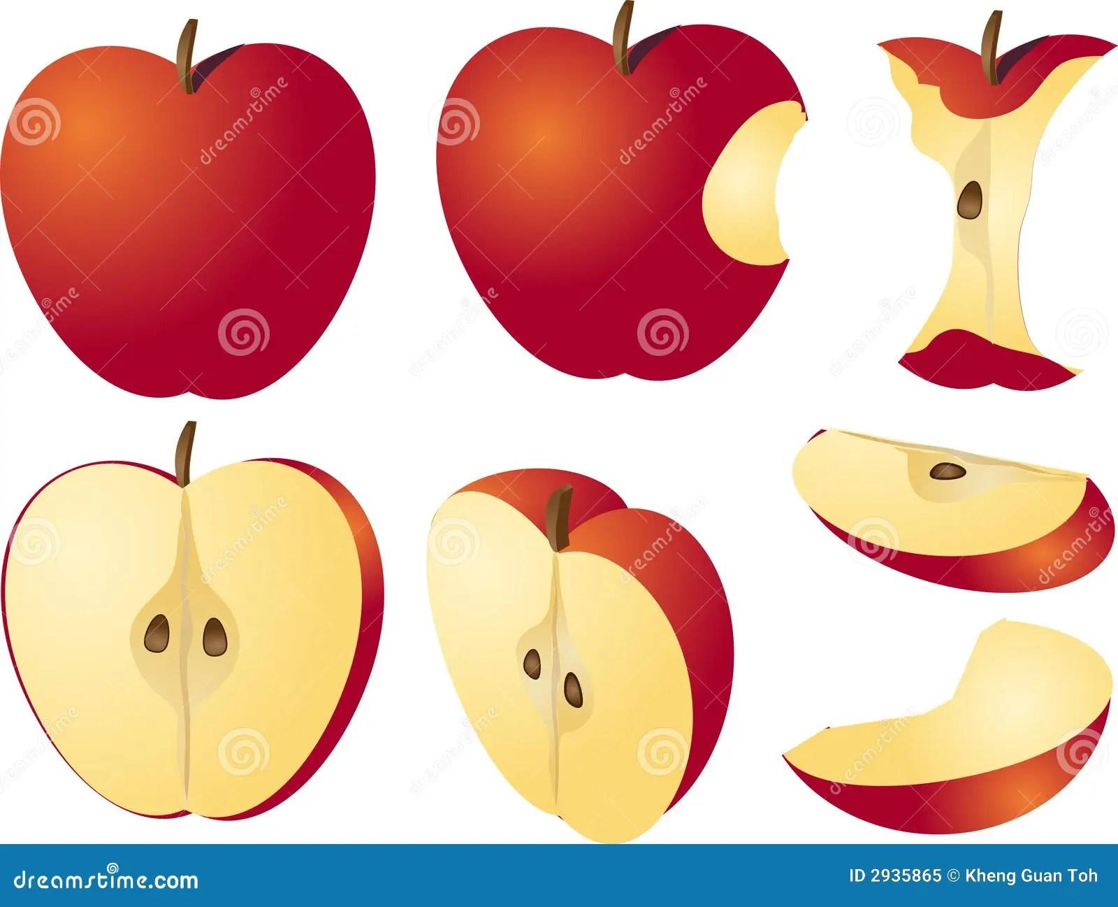Apple Illustration Royalty Free Stock Photo