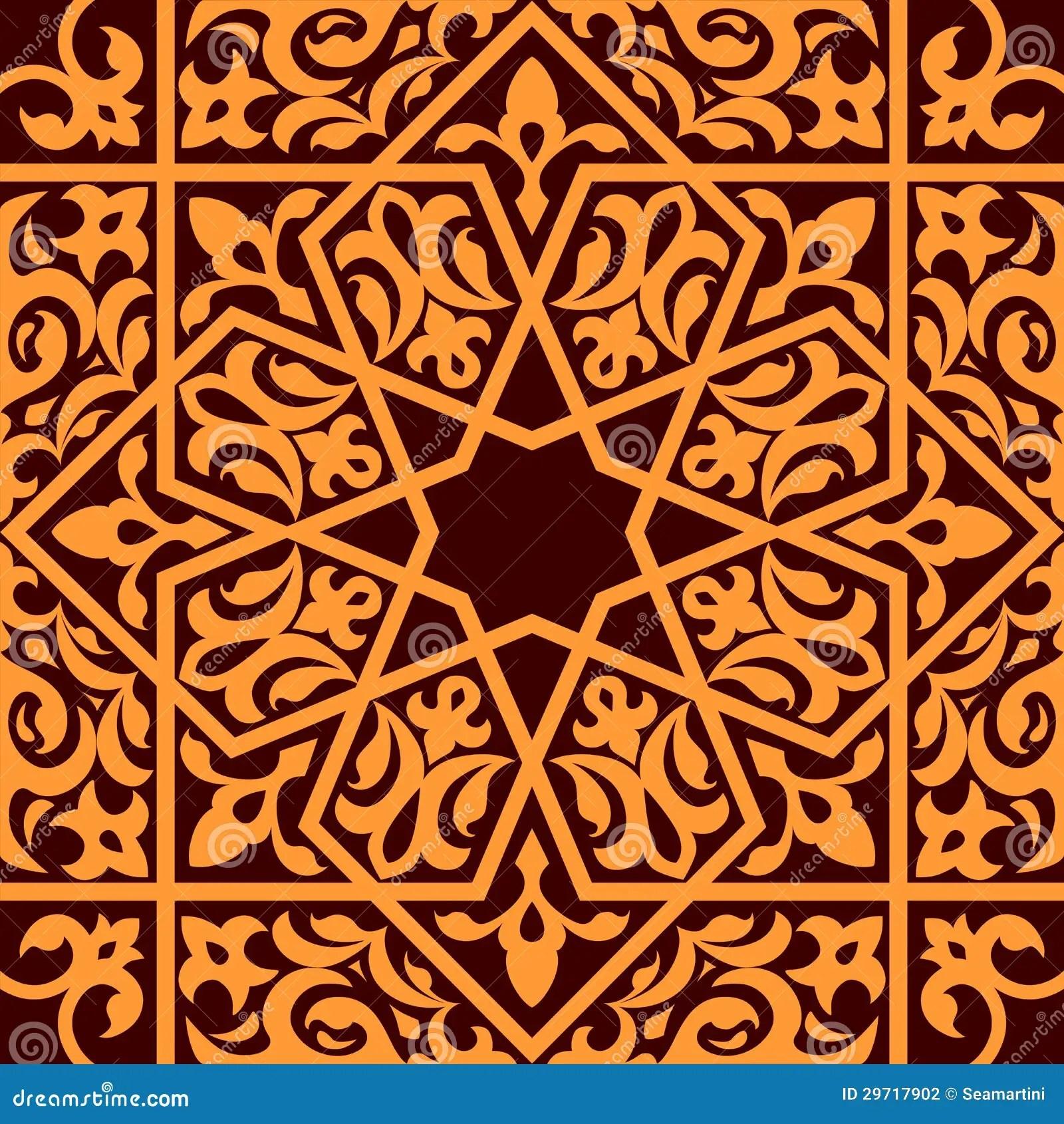 Islamic Arabesque Wallpaper