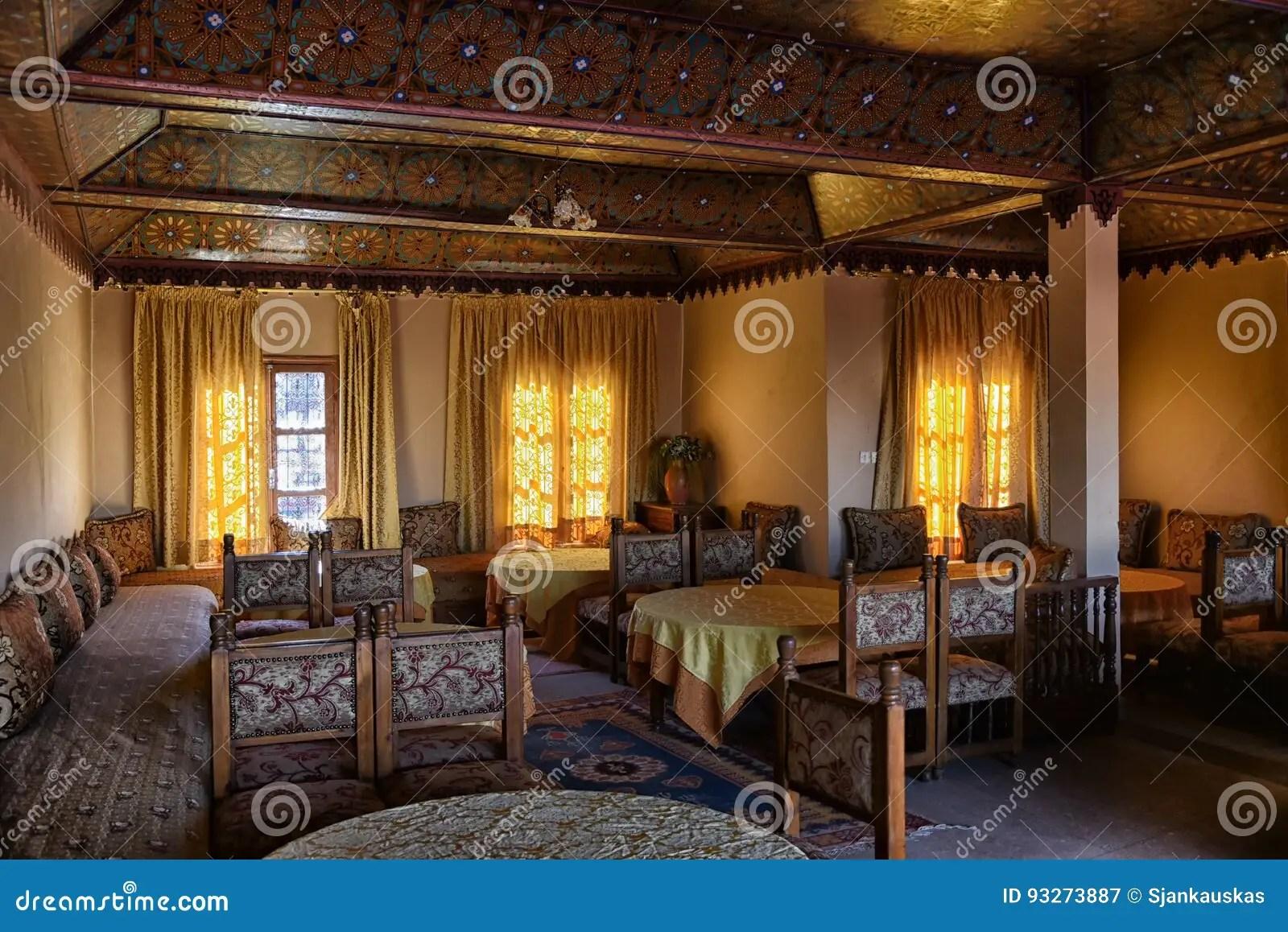 Arabic restaurant Morocco stock image Image of cuisine