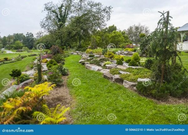 Arboretum Volcji Potok Kamnik Stock - 50662210