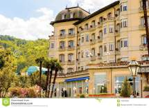 Architecture Of Stresa Italy Editorial Stock