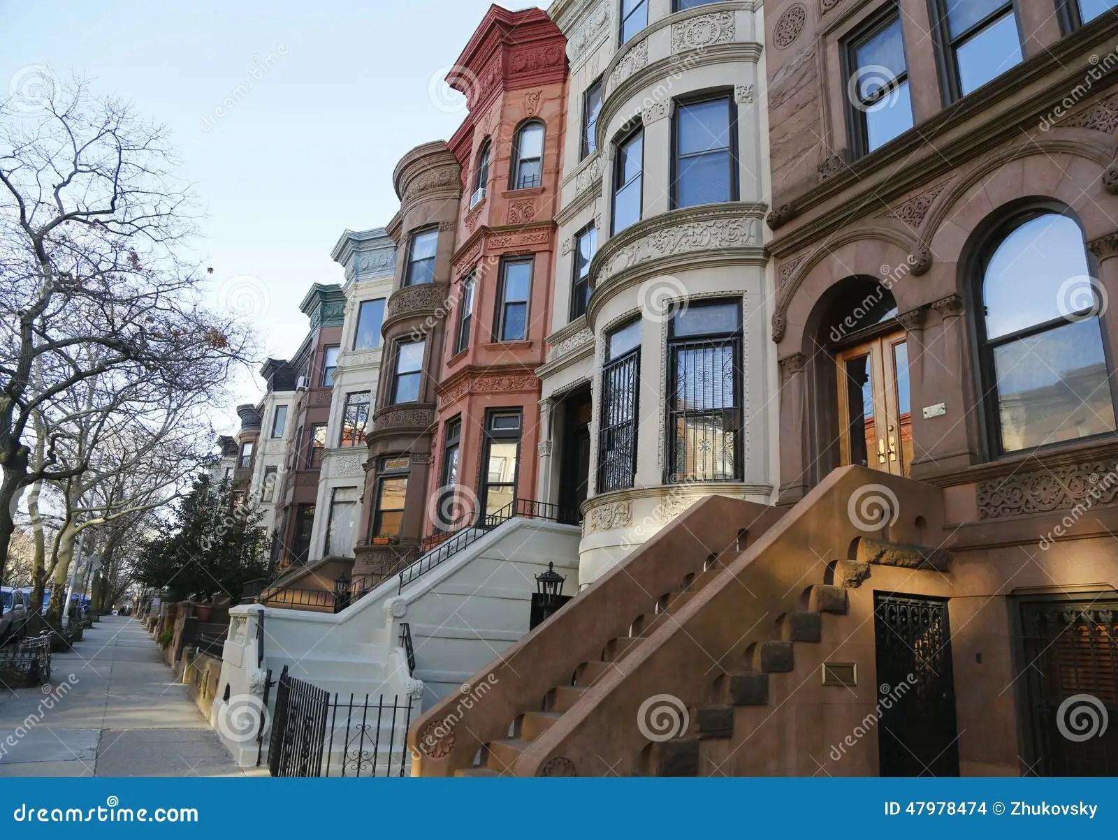 Areniscas De Color Oscuro Famosas De New York City En