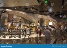 Aria Hotel Interior In Las Vegas Nv August 06 2013