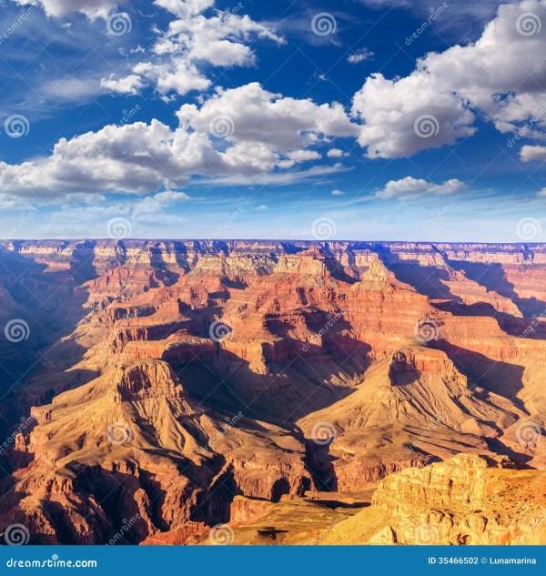 Arizona Sunset Grand Canyon National Park Yavapai Point Stock - 35466502