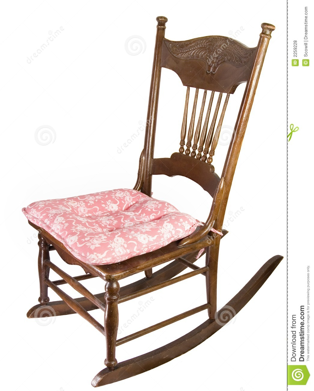 Armless Rocking Chair stock photo Image of armless relax