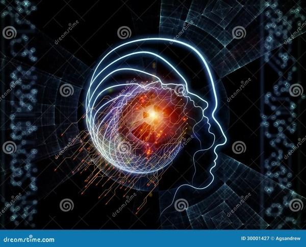 Advance Of Human Technology Royalty Free Stock
