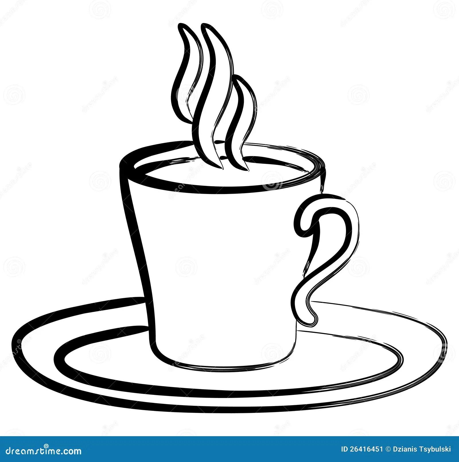 art black white coffee
