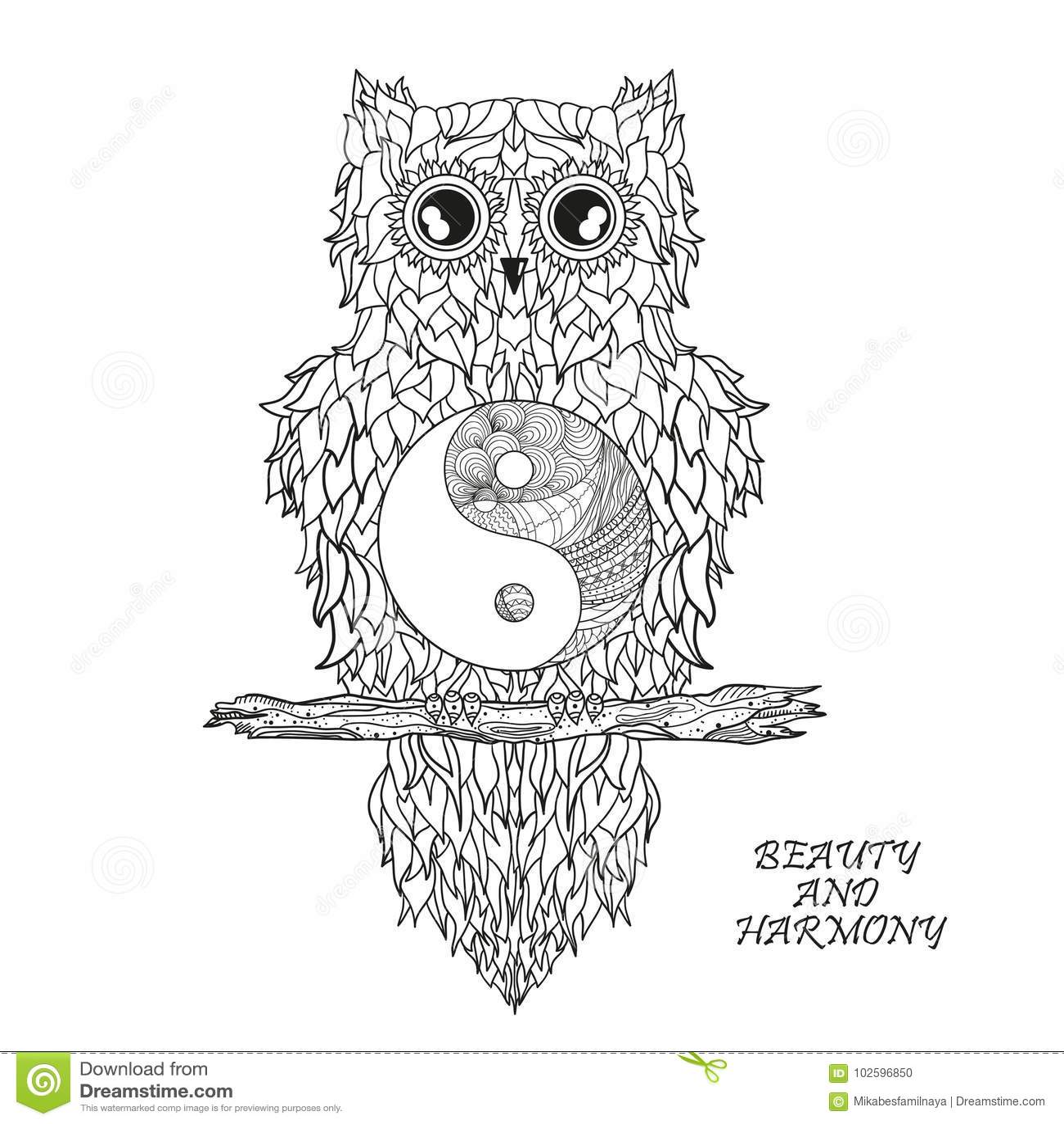 Creative Yin Yang Drawings