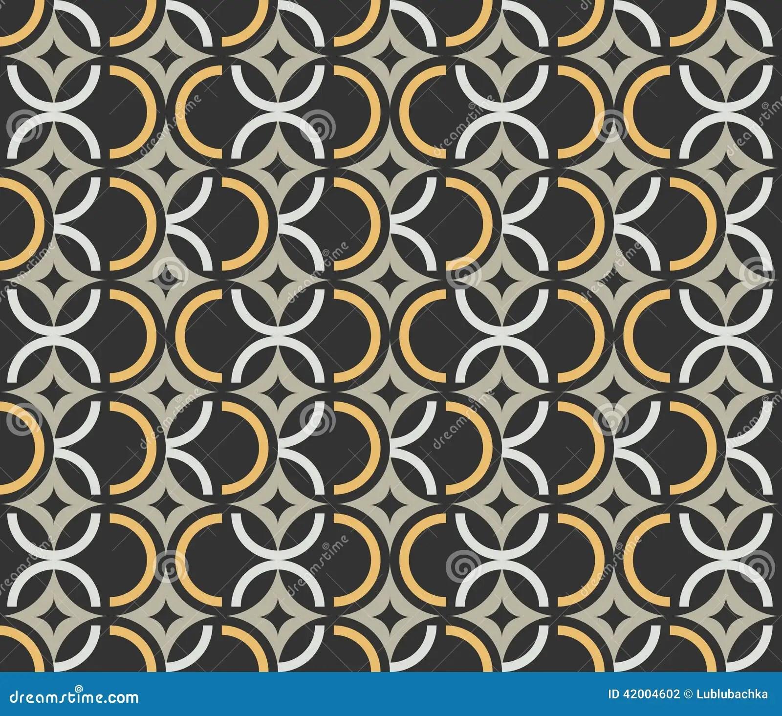 Carta da parati moderna inspired by art nouveau è un'interessante decorazione murale presente nel nostro negozio. Art Deco Seamless Vintage Wallpaper Pattern Stock Vector Illustration Of Gatsby Artistic 42004602