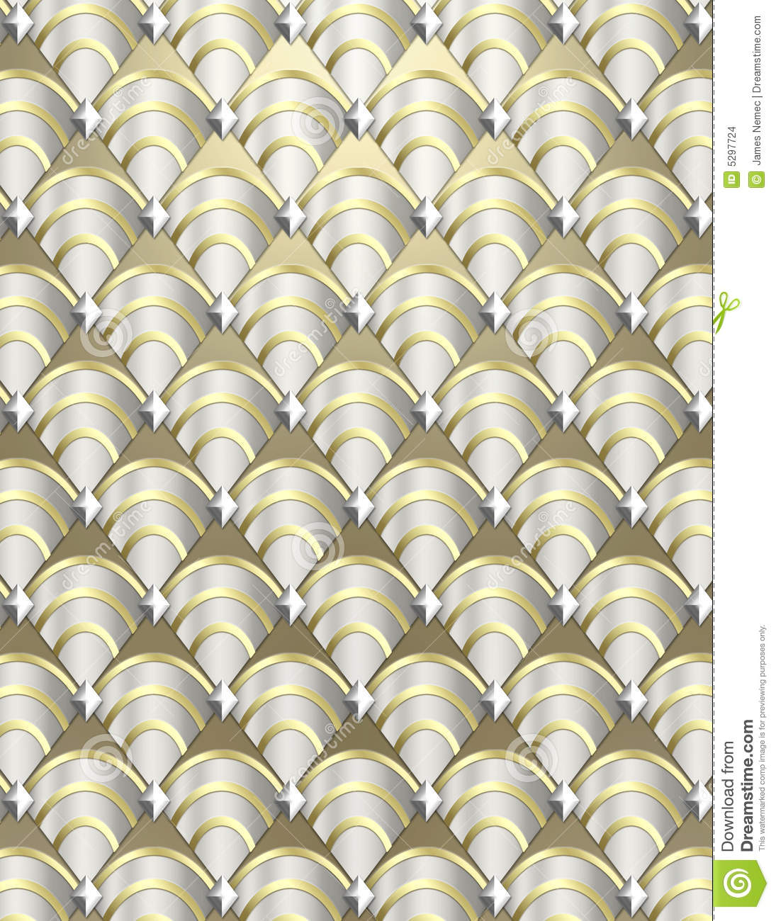 Art Deco Shell Background Stock Photo Image Of Decorative