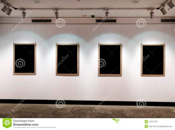 Art Exhibition Board Royalty Free Stock - 17617319