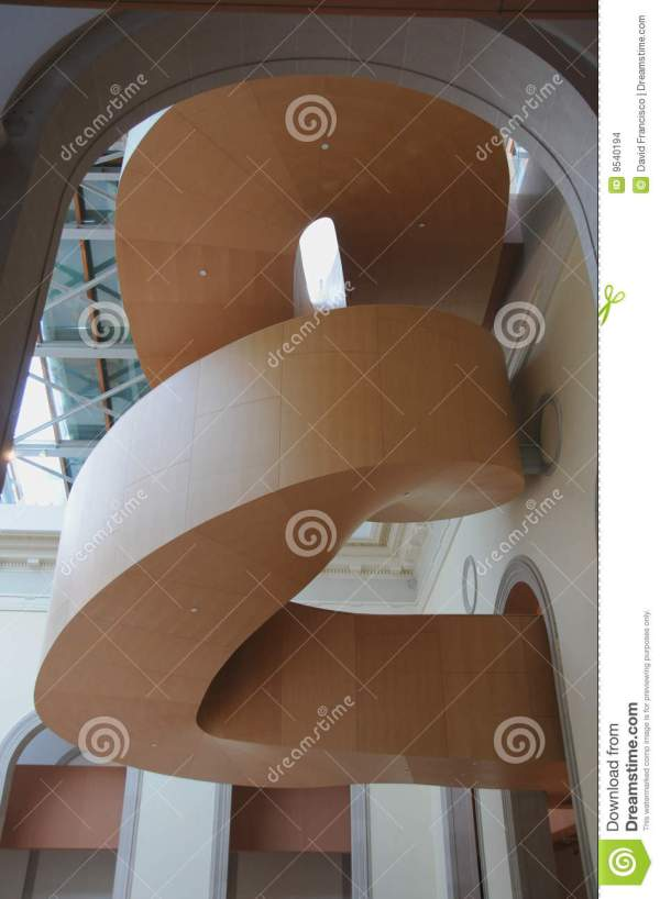 Art Galler Of Ontario Gehry Staircase 4 Editorial Stock