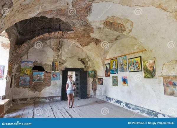 Art In Abandoned Medieval Castle Saint Miklosh