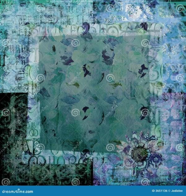 Art Paper Scrapbook Background Royalty Free Stock