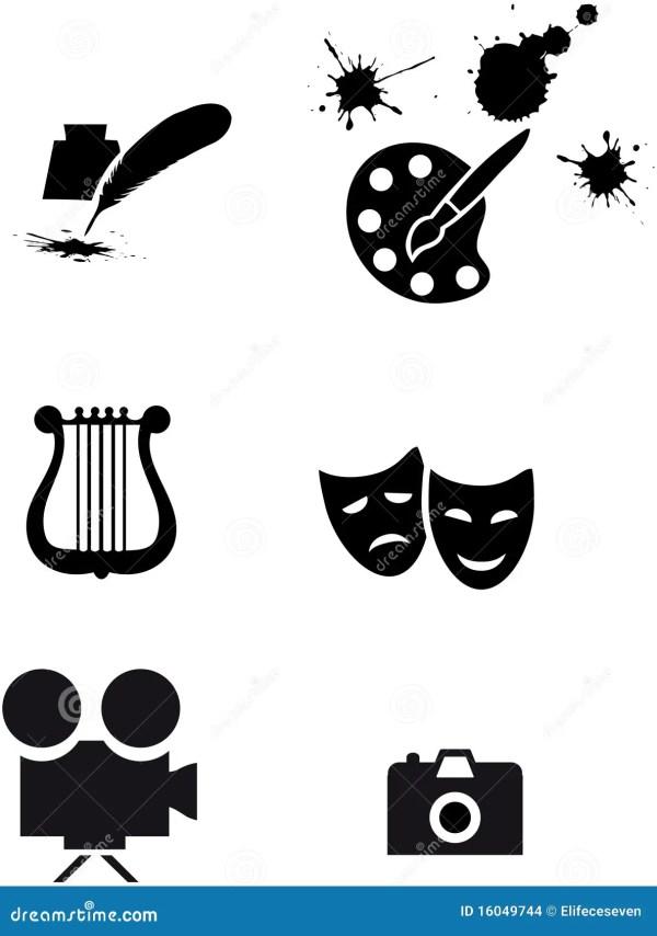 Art Symbols Stock - 16049744