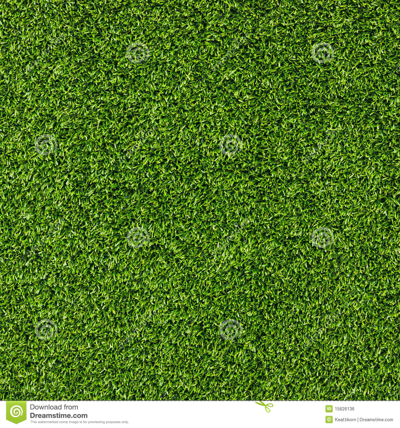 artificial grass field top view texture
