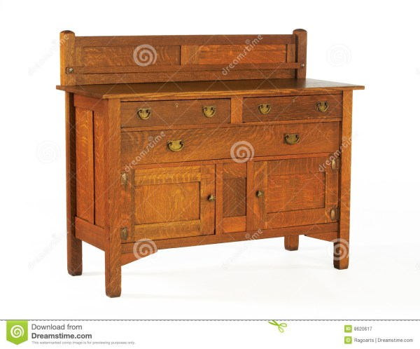 Arts and Crafts Stickley Style Sideboard