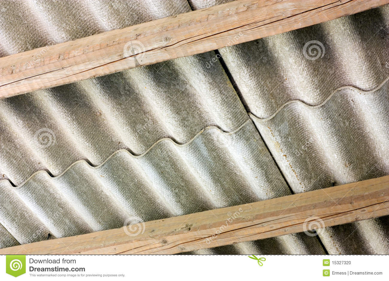 Asbestos Cover Stock Photo  Image 15327320