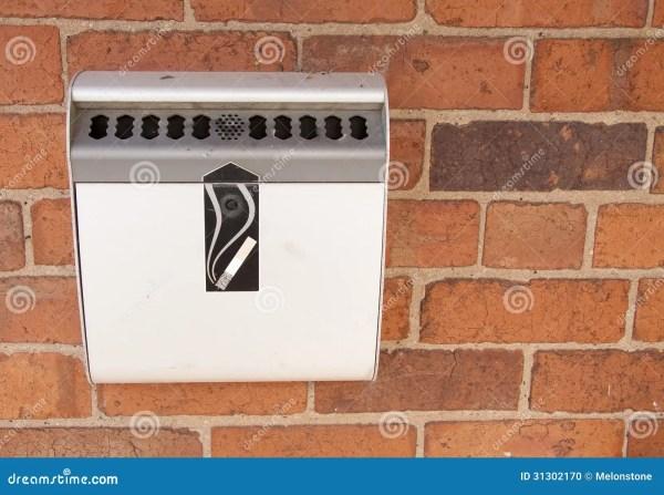 Ashtray Wall Stock - 31302170