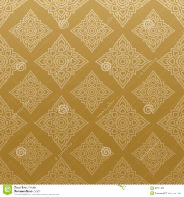 Thai Pattern Vector Art